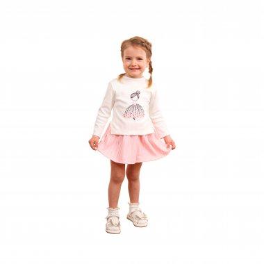 Трикотажное платье с принтом Принцесса