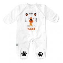 Человечек для младенцев с принтом Tiger
