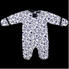 Человечек для новорожденных на молнии с кнопкой Звезда