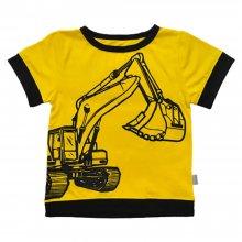 Дитяча футболка з коротким рукавом Екскаватор