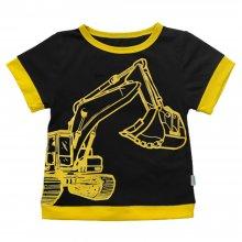 Дитяча футболка з прінтом Екскаватор