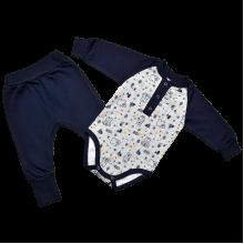 Комплект для новорожденных  футер пенье Норвегия