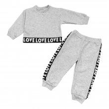 Спортивный костюм детский с укороченным свитшотом Love Love Love