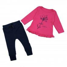 Джемпер детский малиновый с брюками Dexters