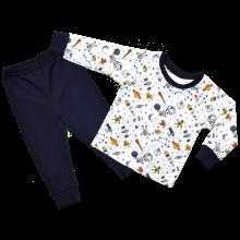 Детская пижама для мальчика Космос
